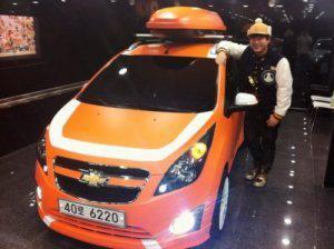 Shindong's car