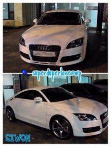 Siwon's car
